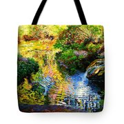 Ripples On A Quiet Pond Tote Bag
