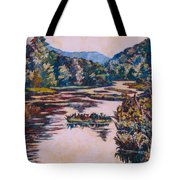 Ripples On The Little River Tote Bag