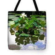 Ripples On The Lotus Pond Tote Bag