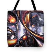 Rippling Fantasy Abstract Tote Bag