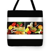 Rise And Pilaf - Collage Tote Bag