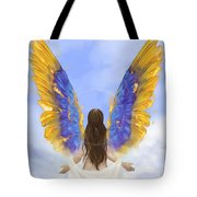 Rise Tote Bag by Brandy Woods