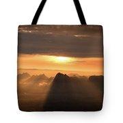 Rise Light Life Tote Bag