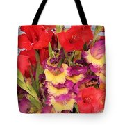 Rising Flowers Tote Bag