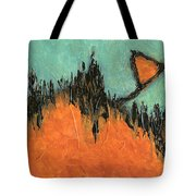 Rising Hope Abstract Art Tote Bag