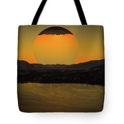 Rising On Kal Tote Bag by Rod Sterling