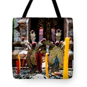 Risning Incense Prayers Tote Bag