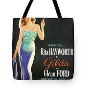Rita Hayworth As Gilda Tote Bag