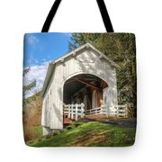 Ritner Creek Covered Bridge 0739 Tote Bag