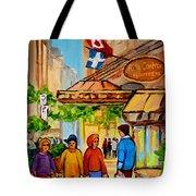 Ritz Carlton Montreal Sherbrooke Street Tote Bag