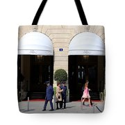 Ritz Hotel Paris Tote Bag