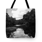 River And Clouds 2 Tote Bag
