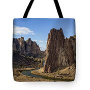 River And Rock Tote Bag