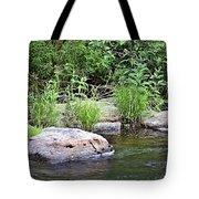 River At Duchesne Falls Tote Bag