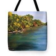 River At Hidden Acres 2. Tote Bag