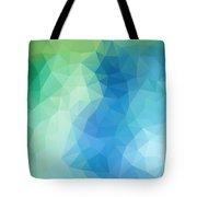 River Bank Geometric Design Tote Bag