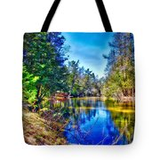 River Bend View Tote Bag