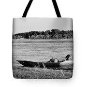 River Canoe Tote Bag