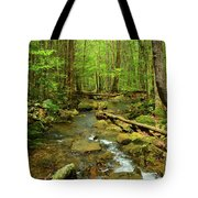 River Crossing On The Maryland Appalachian Trail Tote Bag