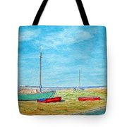 River Dee - Heswall Shore Tote Bag
