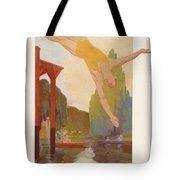 River Diver Tote Bag