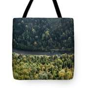 River Dunajec In Pieniny Mountains Tote Bag