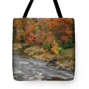 River Foliage Tote Bag