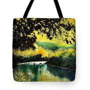 River Houille  Tote Bag