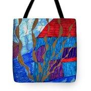 River House Tote Bag