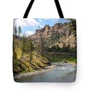 River In Shoshone Tote Bag