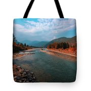 River In The Kingdom Of Happiness Tote Bag