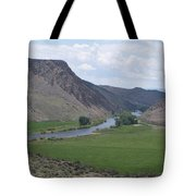 River In The Midst Tote Bag