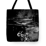 River In The Night... Tote Bag