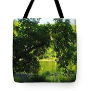River In The Summer Tote Bag