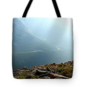 River In The Valley Iv Tote Bag