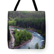 River In Valley G Tote Bag