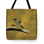River Jewelwing Tote Bag
