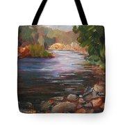 River Light Tote Bag