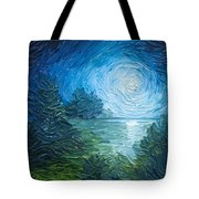 River Moon Tote Bag