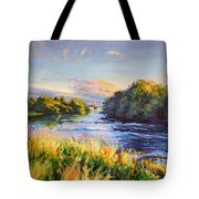 River Moy At Ballina Tote Bag