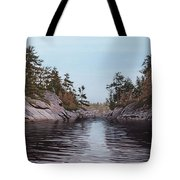 River Narrows Tote Bag
