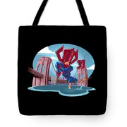 River, Ocean Tote Bag