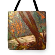 River Of Energy Tote Bag