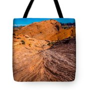 River Of Erosion Tote Bag
