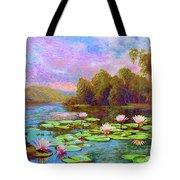 The Wonder Of Water Lilies Tote Bag
