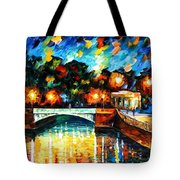 River Of Love Tote Bag