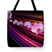 River Of Orchids Tote Bag