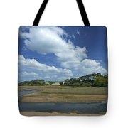 River Otter Estuary,  Budleigh Salterton, Devon, Southwest England, Uk Gb Tote Bag