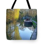 River Reflections  Tote Bag by Gill Billington
