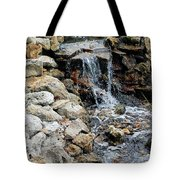 River Rock Of The Unknown Tote Bag